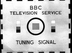 A 1950s BBC tuning signal