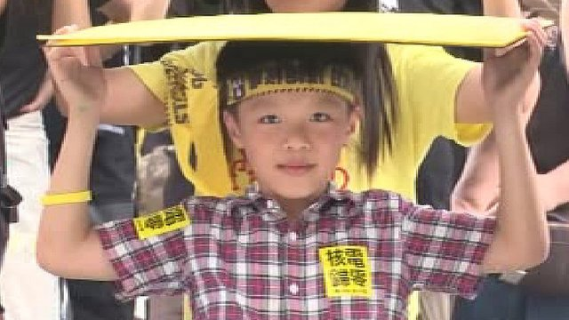 Protesters of all ages have been speaking out against nuclear power