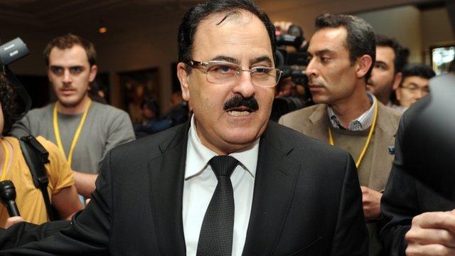 Head of Free Syrian Army Selim Idriss