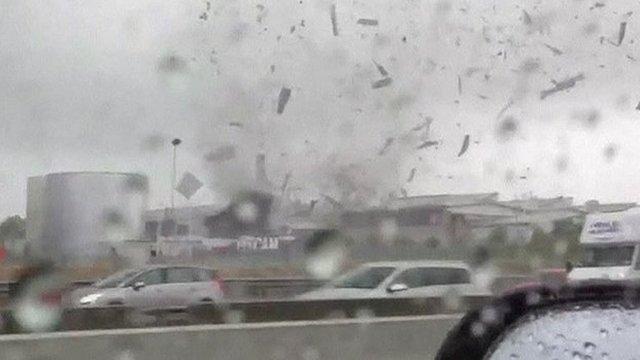 Tornado in Italy
