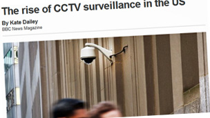 The rise of CCTV surveillance in the US