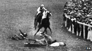 Emily Davison died in hospital four days later