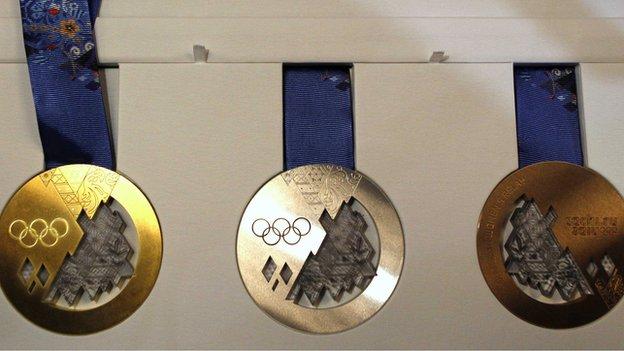 Sochi medals