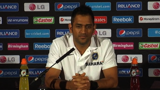 India captain Mahendra Dhoni