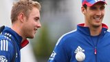 Stuart Broad and Steven Finn