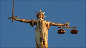 Lady Justice statue at the Old Bailey