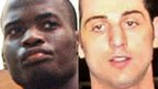 Michael Adebolajo and Tamerlan Tsarnaev