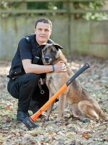PC Matt Rogers and Rossi
