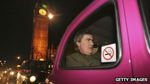 Patrick Mercer after losing his frontbench role in 2007