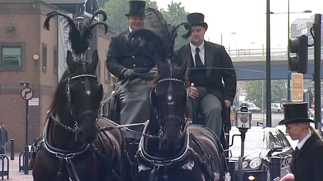 Paul Foster's funeral