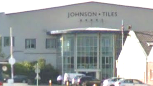 Johnson Tiles factory