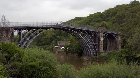 Abraham Darby III's iron bridge