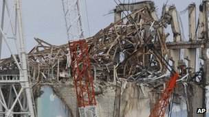 Damaged reactor 3 at Fukushima nuclear plant. File photo