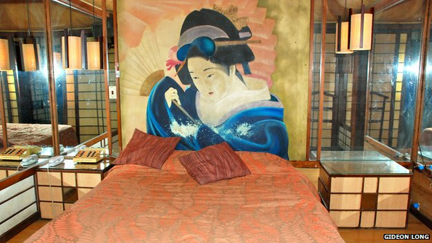 The Japanese room in the Hotel Valdivia