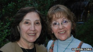 Filomena Gaete (l) and Leonor Valenzuela (r)