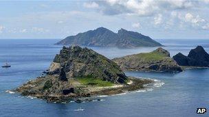 Diaoyu or Senkaku islands