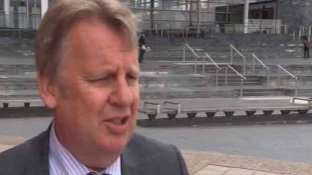 Plaid Cymru AM Rhodri Glyn Thomas says council chiefs' pay is out of control