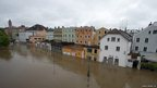 Flooded old town in Passau, Bavaria (2 June 2013)