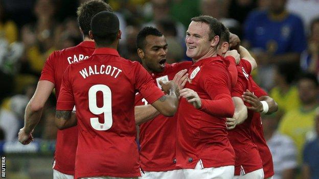 Brazil v England