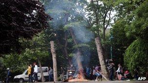 Gezi Park, Istanbul (2 June 2013)