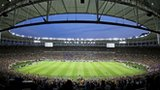 Maracana stadium during Brazil v England friendly