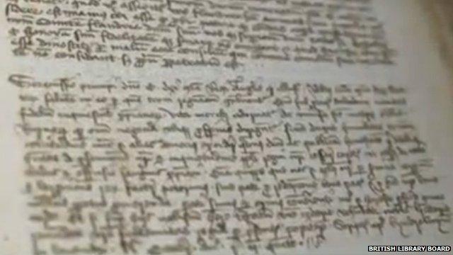 Robert the Bruce letter