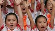 "File image of the Chinese Children""s Choir during the 2008 Olympic Games in Beijing on 4 August 2008"