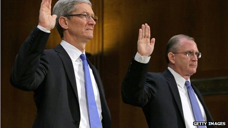 Apple executives testify before Congressional committee 21 May
