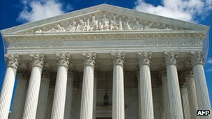 The US Supreme Court is seen on 1 October 2010