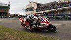 William Dunlop achieved the third Isle of Man TT podium of his career on Monday