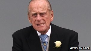 Duke of Edinburgh, pictured on 1 June at the Epsom Derby