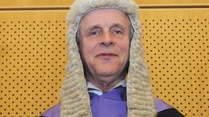 paul graham jailed for ipswich judge john devaux attack bbc news. Black Bedroom Furniture Sets. Home Design Ideas