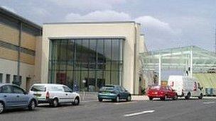 Royal Blackburn Hospital entrance