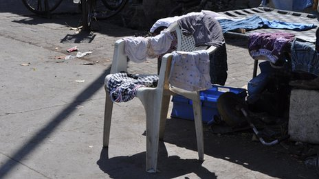 Plastic chairs of India