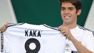 Real Madrid's Kaka