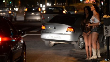 Prostitutes in Belo Horizonte, 2 May 2013
