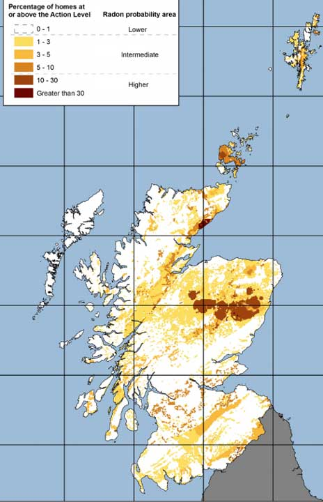 radon map of scotland
