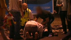 Man injured in Blackpool
