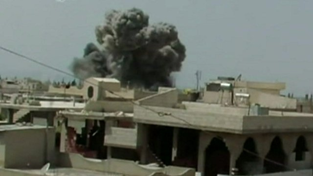 Bombing in Qusair