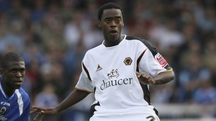 Rohan Ricketts while at Wolves