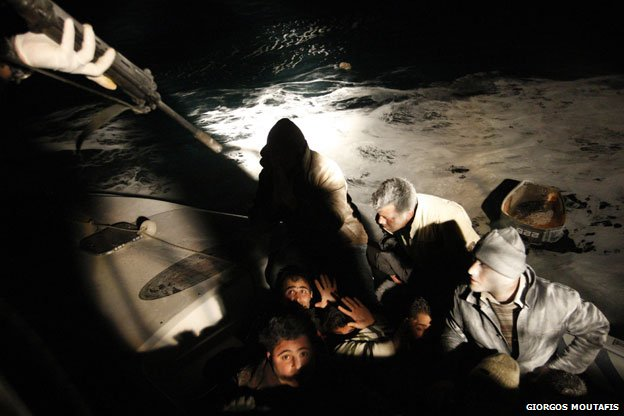 Raid on refugee boats
