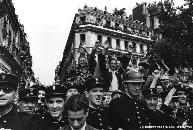 The liberation of Paris, 1944