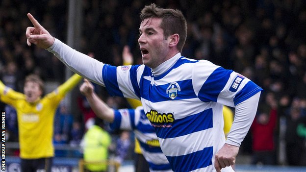 Peter MacDonald scored 15 goals for Morton last season