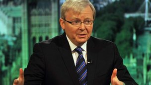 File photo: Kevin Rudd