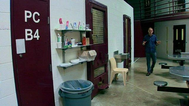 Jonathan Beale in Guantanamo