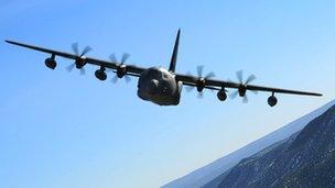 MC-130J Commando II aeroplane