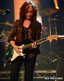 Bonnie Raitt on the Later with Jools Holland TV programme, Maidstone, Britain 05 June 2013