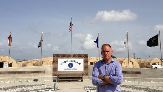 Jonathan Beale at Guantanamo Bay