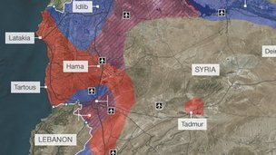 Syria: Mapping the conflict