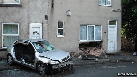 Car on Park Lane
